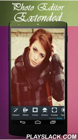 Photo Editor Extended  Android App - playslack.com , Expanded best photo organizer. You can edit your personal photos quickly. Photo editing application available features you want is very comprehensive. Phone is designed for tablets. You can edit your photos on the large screen on the tablet in a comfortable way. Thanks to the camera feature, you can edit pictures instantly away. Your photos in a variety of vehicle makes the most beautiful. Pictures with HD will be better quality. Photoshop…