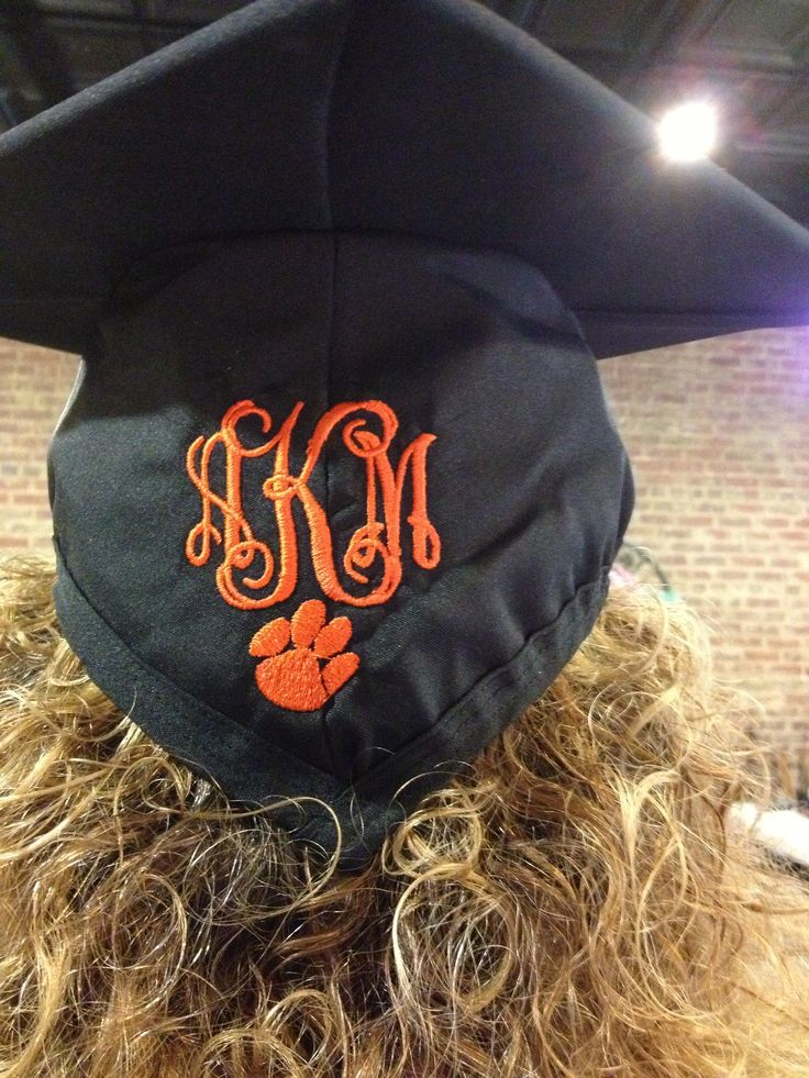 I mean ... not that you are necessarily going to college at Clemson ... cute idea for wherever you graduate from.