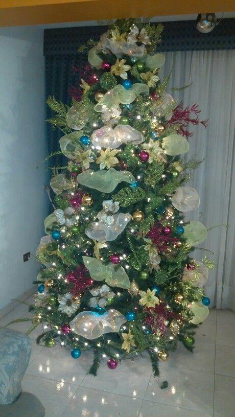 70 best ARBOLES NAVIDEÑOS y GUIRNALDAS images on Pinterest - christmas decors