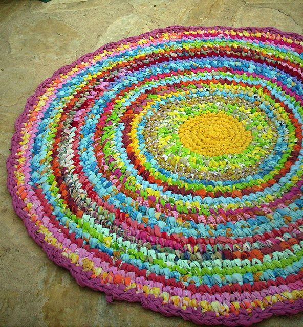 104 Best Crochet 9 Rugs Images On Pinterest Crochet