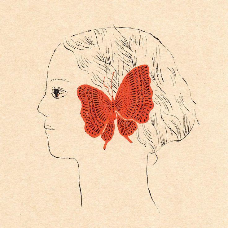 "sanae sugimoto 杉本 さなえ (@sanae_sugimoto) on Instagram: ""「耳をとじて Close Your Ears」 2016 墨汁 sumi #イラスト#絵本#illustration#drawing #book"""