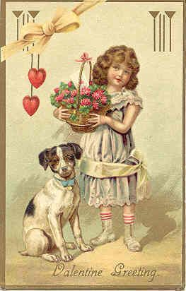 MSC-13. An Excellent Valentine Post Card vintage 1905, heavily embossed. Card has an RPO NY Central R.R. Post mark, a DB-USD-PM 1912 and in Excellent condition. Buyer pays 1.95 S&H for U.S. delivery 1st Class Mail. FOREIGN and all other addresses will pay 3.95 S&H for Int'l Standard Flat Rate Delivery. Discounted S&H is available for multiple Post Card purchases as follows; 1st two cards are shipped for 1.95 with a 25 cent charge for each additional card when all cards are shipped together…