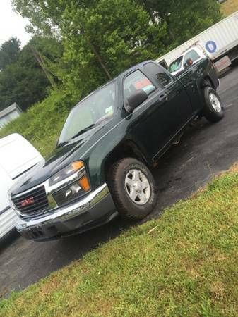 2004 GMC CANYON MANUAL 4X4 great on gas (Catskill, ny) $6800: < image 1 of 8 > 2004 GMC CANYON VIN: 1GTDT198748221433condition:…