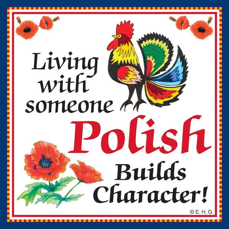 Magnetic Tile: Polish Character