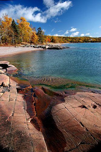 Lake Superior Beach - Northwest Ontario, Canada
