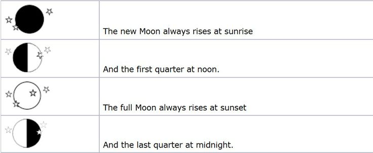 When Will The Moon Rise Today?    click the pic to read the interesting article