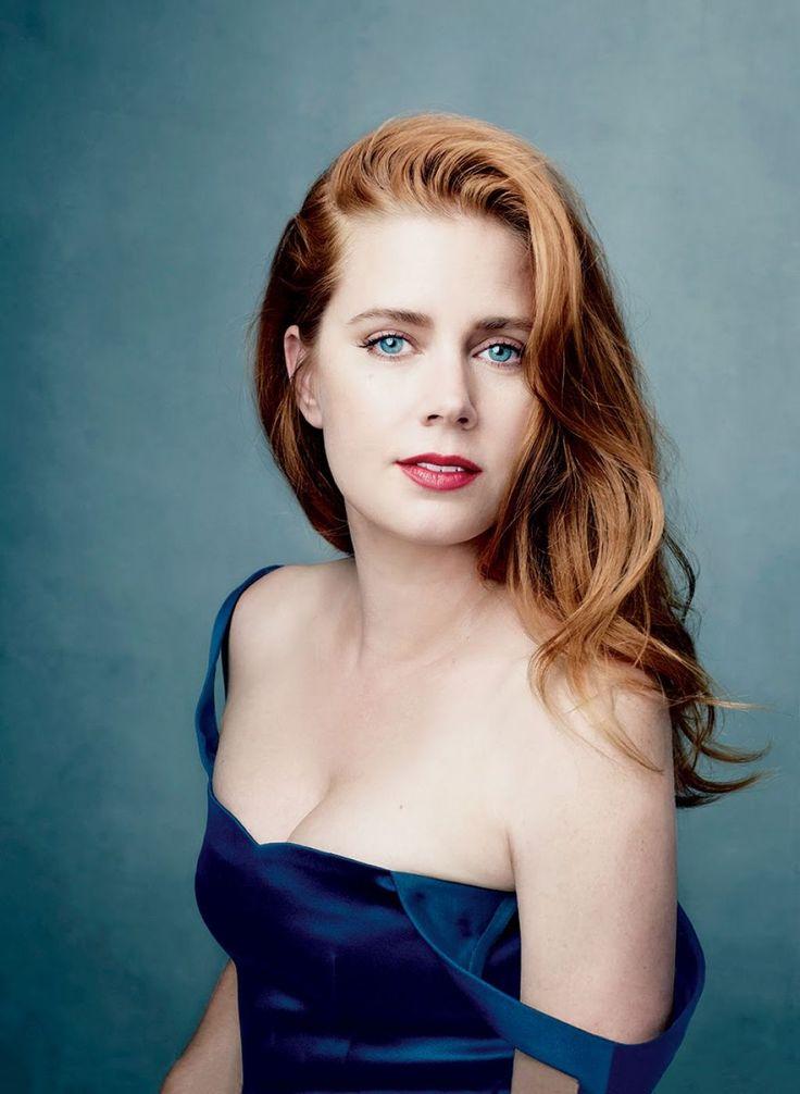 Amy Adams, by Annie Leibowitz for Vogue US (December 2014)