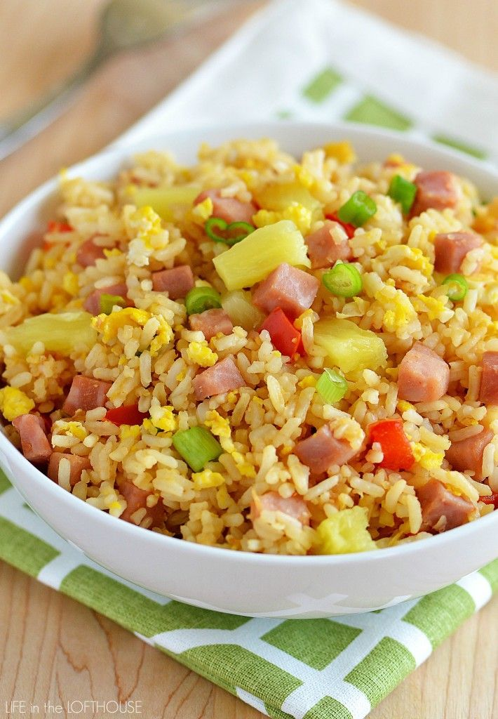 how to make shrimp fried rice with brown rice