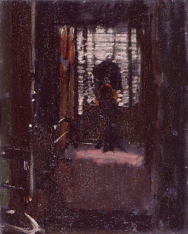 Walter Sickert - Jack the Ripper's Bedroom (c. 1907)