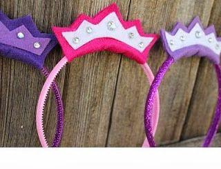Fiesta de Princesas: Accesorios :: Crown Hairband