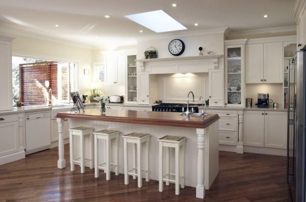 interieur maison style americain. Black Bedroom Furniture Sets. Home Design Ideas