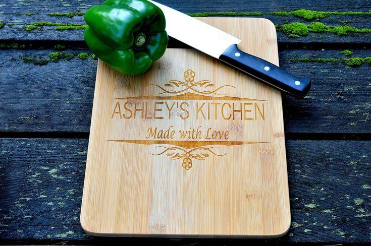 Personalized Cutting Board, Custom Cutting Board, Engraved Cutting Board, Custom Wedding Gift, Bamboo Cutting Boards