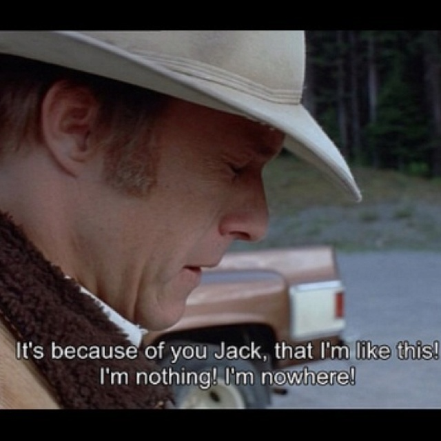 an analysis of brokeback mountain Attraction, gender roles, and homosexuality: an analysis of brokeback mountain in this paper, i will identify examples from the film brokeback mountain that.