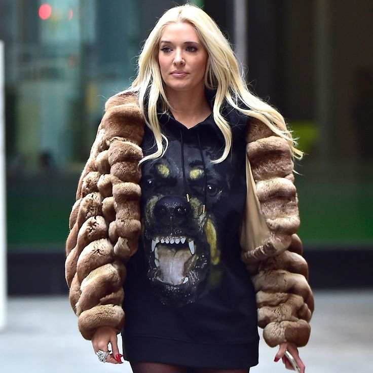 Erika Jayne from The Real Housewives of Beverly Hills on Bella and Gigi Hadid, Tom Ford, and vintage Alexander McQueen
