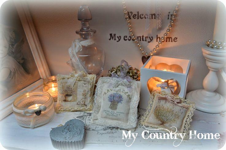 MY COUNTRY HOME sacchetti di lavanda provenzali