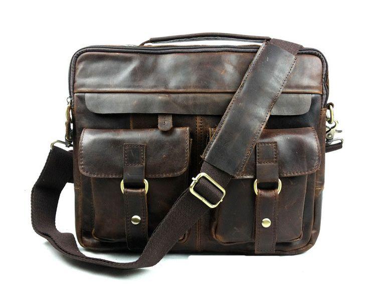 Мужские Сумки из натуральной кожи сумки Старинные сумки мужчины портфели натуральная телячья кожа сумка на плечо Мужской деловой сумка