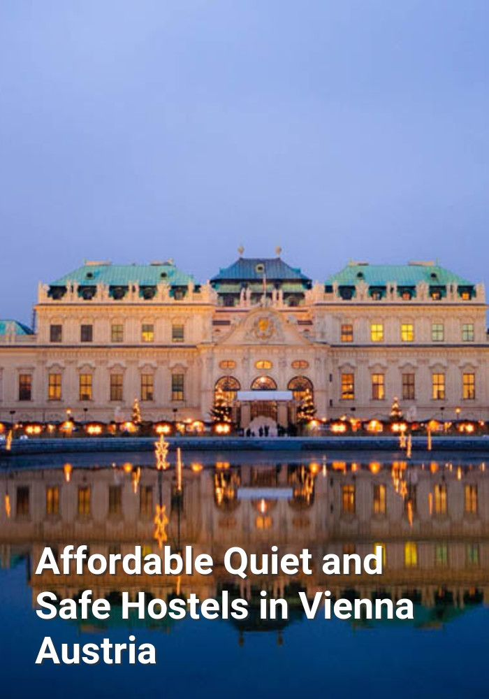 Affordable, Quiet, and Safe Hostels in Vienna, Austria: Vienna is the capital and largest city in Austria. It's also at the cultural,…