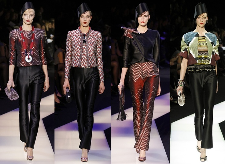Armani Privé - Paris Haute Couture Spring Summer 2013