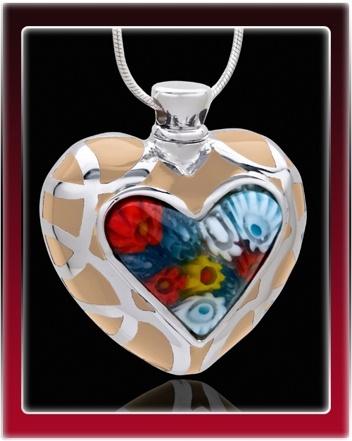 Supreme Heart Cremation Jewelry $39.99