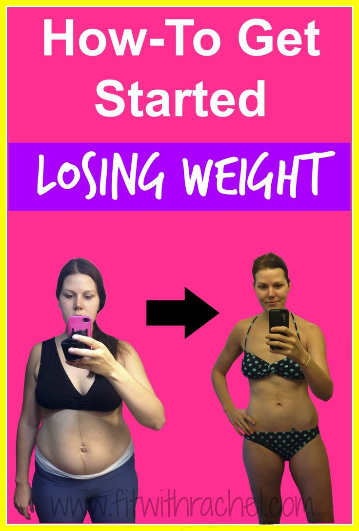 How-To Get Started Losing Weight