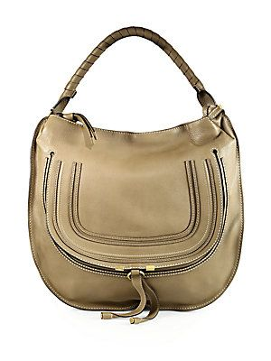 chole hand bags - Chlo�� Small Marcie Hobo @Saks Fifth Avenue Fifth Ave | Double Bag ...