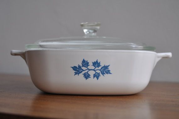 Pyrex Pyroflam Dish retro vintage - Netherlands    On ETSY  http://etsy.me/14WvHK7