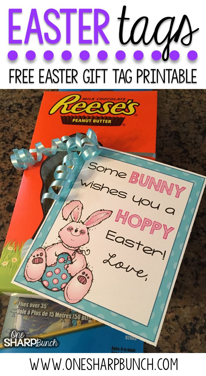 89 best easter images on pinterest bunny rabbit crafts for kids free printable easter tags negle Images
