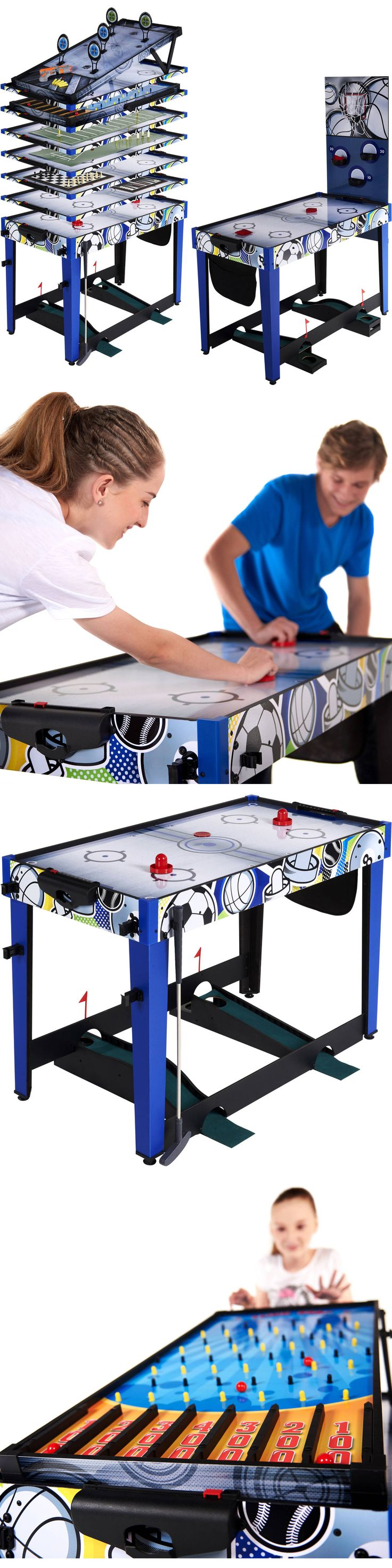 Other Indoor Games 36278: Multi Game Combo Table 48 Air Hockey Basketball Bean Bag Toss Darts Archery -> BUY IT NOW ONLY: $122.8 on eBay!