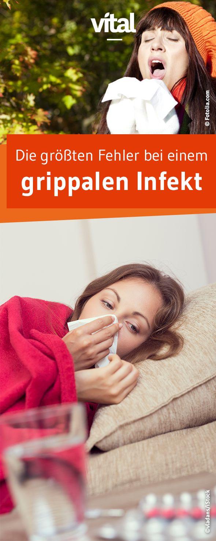 Grippe Verschleppen