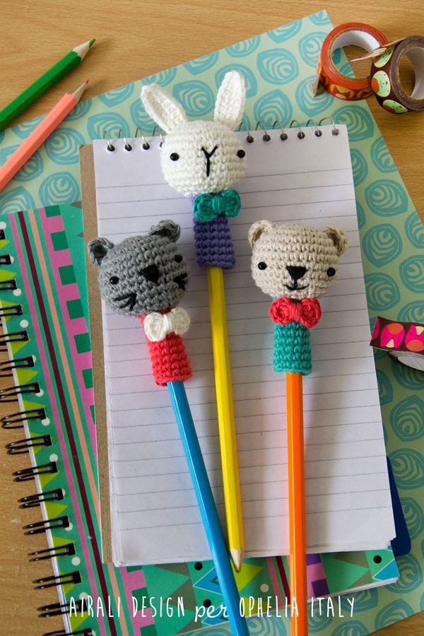 Airali design. Where is the Wonderland? Crochet, knit and amigurumi.: Ami-matite. Schema gratuito!