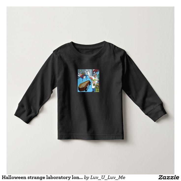 Halloween strange laboratory long sleeve t-shirt