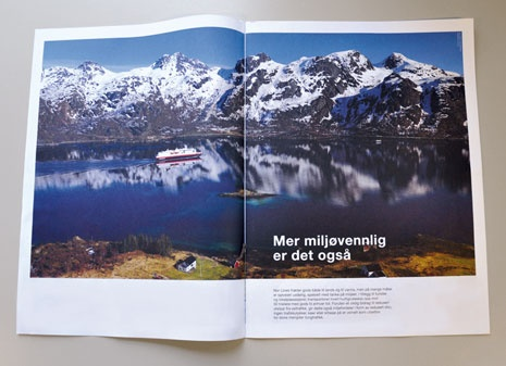 Nor Lines travels by Hurtigruten