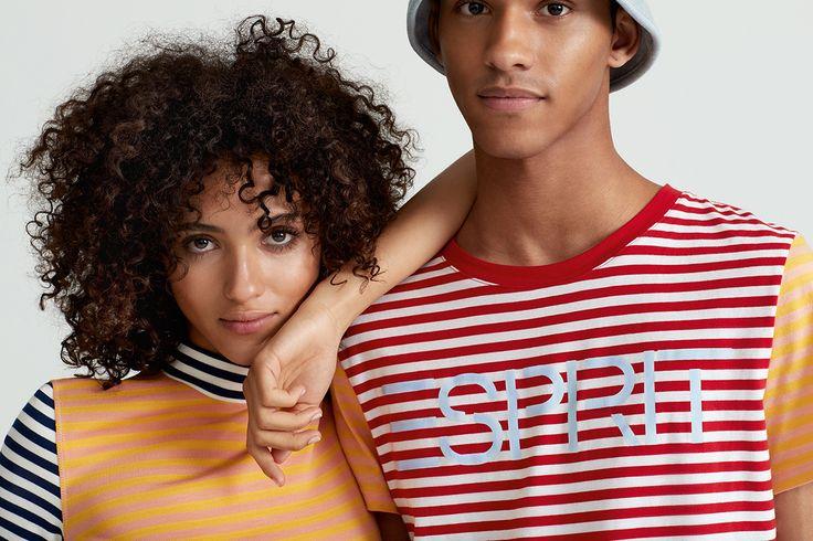 #Esprit #EspritxOC #OpeningCeremony #80s #prints #california #stripes #shirts