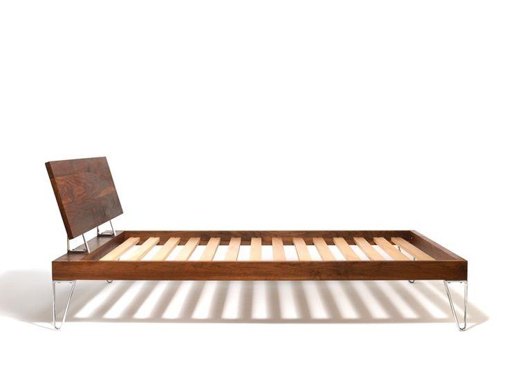 Bruno Solid Wood Bed
