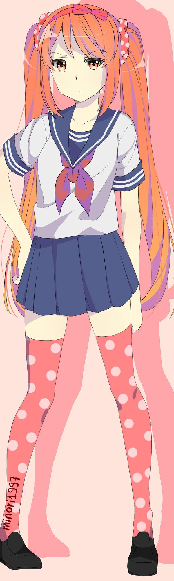 Game development blog yandere classmates anime pinterest nice - Osana Najimi By Minori1997 Yandere Characterstsundereanime Musicyandere Simulatorindie Gamesanime