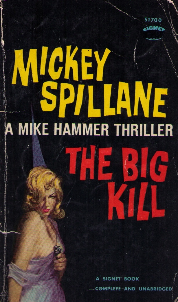 Image result for the big kill pulp cover