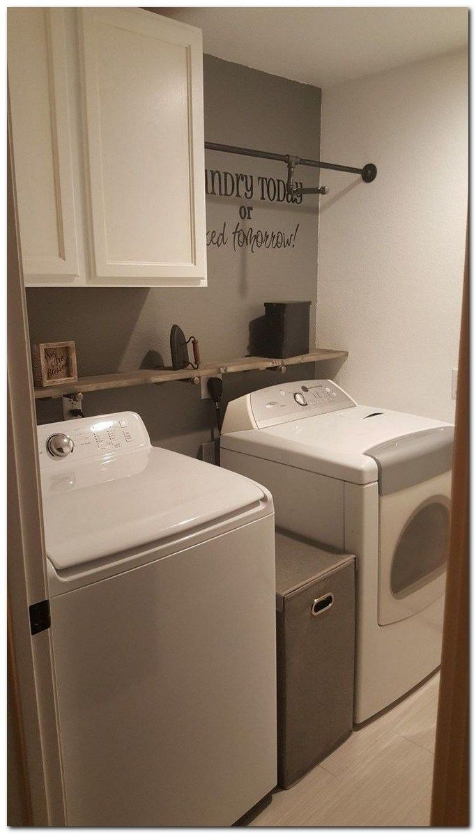 42 Apartment Decorating Ideas And Organization Tips For Renters Apartmentdecoratingideas Apartmentde Rustic Laundry Rooms Laundry Room Renovation Laundy Room