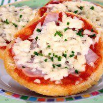 Receta de Pizzetas Caseras