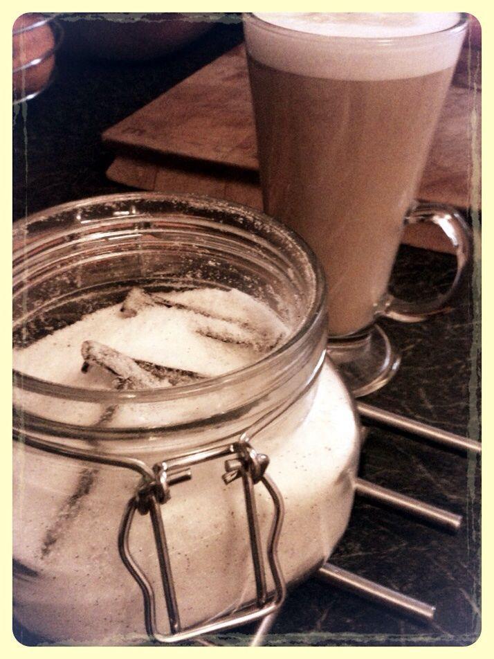 Homemade vanilla sugar