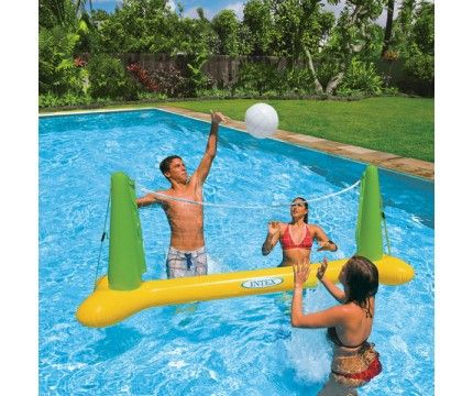 Pool Volleyball Game Inflatable Pool Toys Pools Toys And Swimming Pools And Spas Pool