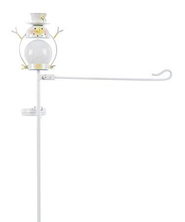 Look what I found on #zulily! Snowman Solar Garden Flag Stand #zulilyfinds