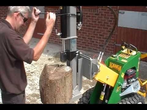 Kanga - Log Splitter Attachment