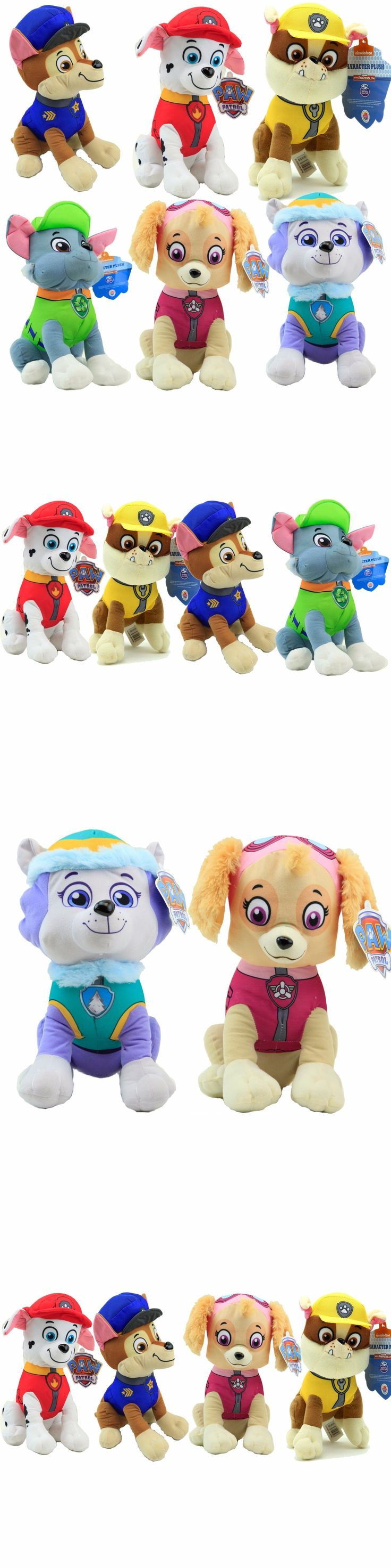 Plush Baby Toys 131084: 11 Paw Patrol Character Rubble Marshall Skye Chase Everest And Rocky Plush Toy -> BUY IT NOW ONLY: $57.99 on eBay!