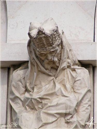 Nemzeti Színház Király szobor részlet - National Theatre King statue details - Budapest
