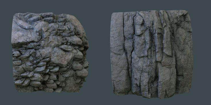ArtStation - Hand Sculpted Rock Walls, Tyler Smith