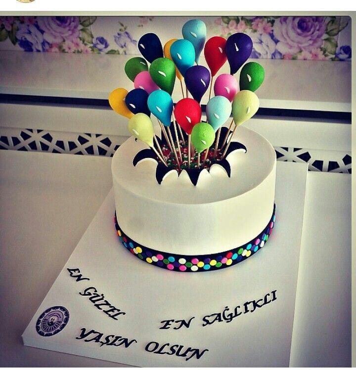 25+ Best Ideas About Balloon Cake On Pinterest