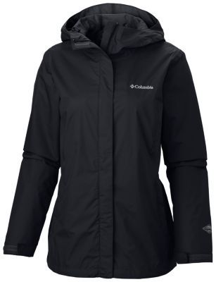 Columbia Arcadia II Rain Jacket: +$60, waterproof, packable - no Tall size, not for ski