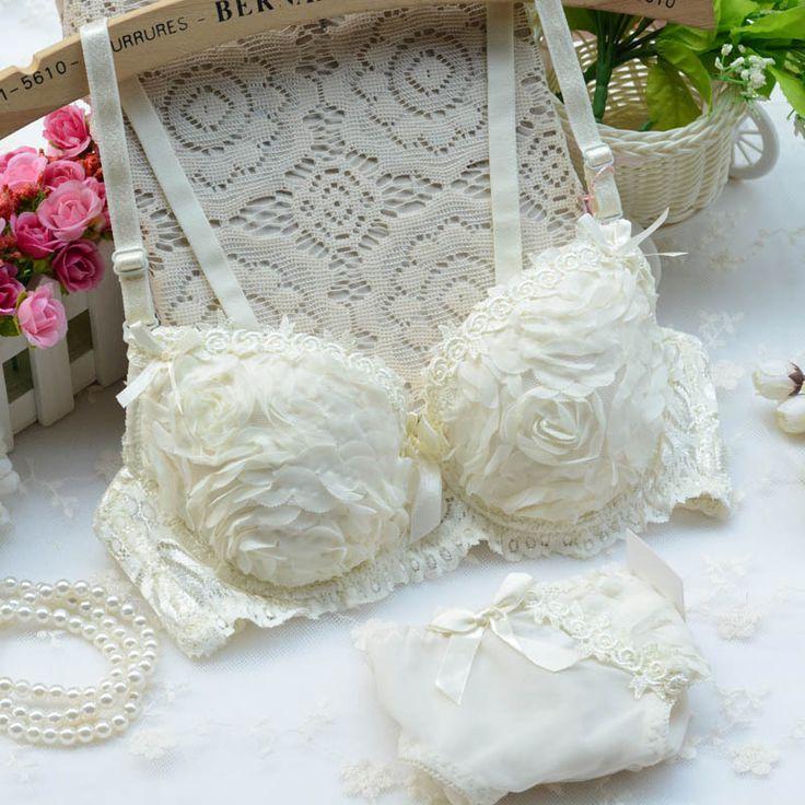 beroemde merk van hoge kwaliteit sexy vrouwen bh set af te drukken zijde en satijn kant push up groot formaat in van op Aliexpress.com