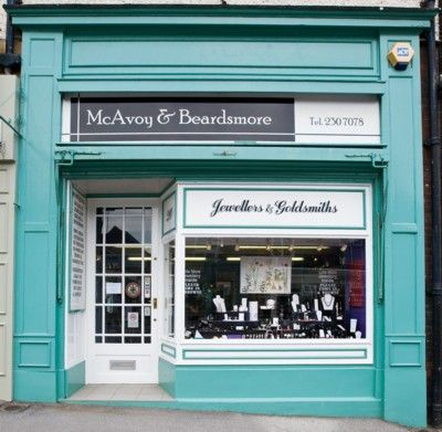 My next painting will probably be this shop front, I love the clean lines and simple color scheme