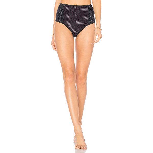 Dion Lee Layered High Waisted Bikini Bottom (252 AUD) ❤ liked on Polyvore featuring swimwear, bikinis, swim, high waisted bikini, transparent bikini, cut-out bikinis, high waisted cutout bikini and high waist cut out bikini